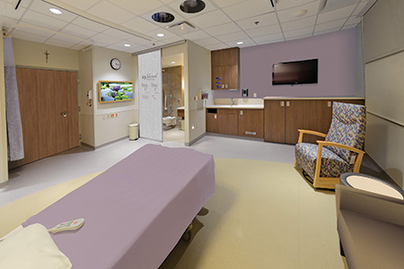 Lean Electrical Construction on Labor & Delivery Room